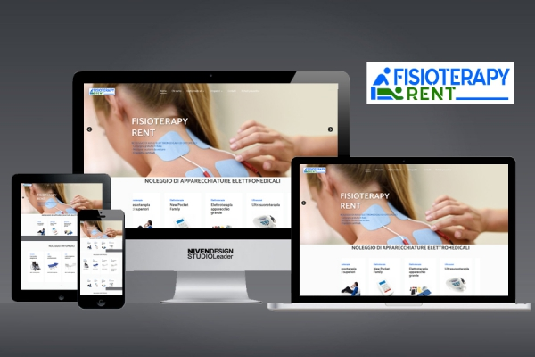 WEB DESIGN FISIOTERAPY RENT